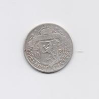 CYPRUS 1921 4 1/2 PIASTRES SILVER COIN - Chypre