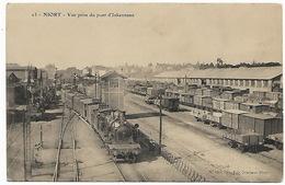 NIORT - Vue Prise Du Pont D'Inkermann - Train Wagons De Marchandises Dépôt - Niort