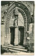 CPA 80 Somme Poix Porche De L'Eglise - Poix-de-Picardie