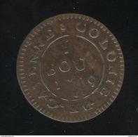 2 Sous Colonie De Cayenne 1789 A TTB+ - 1774-1791 Louis XVI