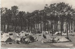 CPSM - Les Sables D'Olonne - Terrain De Camping - Non Circulée - Sables D'Olonne