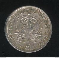 5 Centimes Haïti 1901 TTB - Haiti