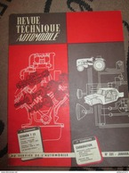 Revue Technique Automobile N° 195 Juillet 1962 ( RTA ) - Fiat 500 Jardinière - Auto