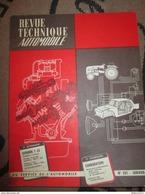 Revue Technique Automobile N° 201 Janvier 1963 ( RTA ) - Citroen T23 Et 2 CV - Auto