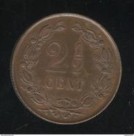 2,5 Centimes Pays-Bas 1880 SPL - 1849-1890 : Willem III