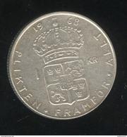 1 Couronne Suède / Sweden 1968 Gustav VI - TTB+ - Sweden
