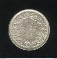 1/2 Franc Suisse 1963 - TTB+ - Suisse