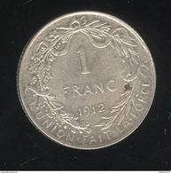 1 Franc Belgique 1912 Albert Roi Des Belges - TTB+ - 07. 1 Franc