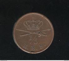 1/5 Rigsbankskilling Danemark 1842 SUP - Dänemark