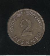 2 Pfennig Allemagne / Gemany 1966 - SPL - [ 7] 1949-… : FRG - Fed. Rep. Germany
