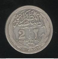 2 Piastres Egypte 1917 - TTB+ - Egypte