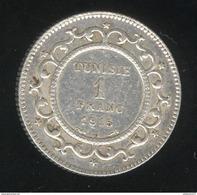 1 Franc Tunisie 1915 A  - TTB+ - Tunisia