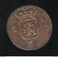 1 Duit Indes Néérlandaises / Nederland Indie 1808 - TTB - Indien