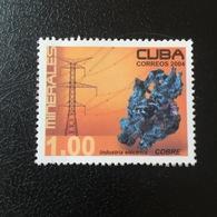 CUBA. COBRE. 2004. MNH (A0208A) - Minéraux