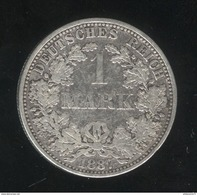 1 Mark Allemagne / Germany 1887 A - 1 Mark