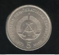 5 Mark Allemagne De L'est / East Germany 1971 - Hauptstadt Der DDR - Berlin - SUP - [ 6] 1949-1990 : RDA - Rép. Démo. Allemande