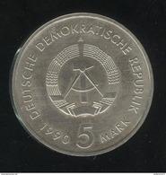 5 Mark Allemagne De L'est / East Germany 1990 - 500 Jahre Postwesen - SUP - [ 6] 1949-1990 : RDA - Rép. Démo. Allemande