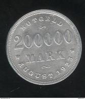 Notgeld 200 000 Mark Hambourg 1923 SUP - [ 3] 1918-1933 : Weimar Republic