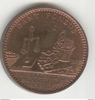 Médaille Souvenir Monnoye De Paris - Dant Pondus - Rue Du 4 Septembre à Paris - IIIème République - Professionals / Firms