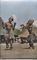 CPSM Coloniale - Elampleu Chez Les Yacoubas ( Danses D'enfants ) - Circulée 1954 - Afrique