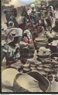 CPSM Coloniale - Marché De Maroua - Femme Peignant Une Poterie - Circulée - Afrique