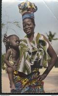 CPSM Coloniale - Mère Et Enfant - Circulée - Afrique
