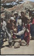 CPSM Coloniale - Sacrifice Rituel - Circulée - Afrique