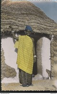 CPSM Coloniale - A.E.F. - Jeune Femme Foulbé - Circulée - Afrique