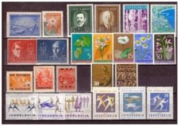 YUG12)1947-1961 Lotto 29 Valori MNH E MLH + 4 Val. Bosnian Girl 1918 - Nuovi