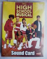 ALBUM D'IMAGES EDIBAS CARDS HIGH SCHOOL MUSICAL Sound Card 2004 - Incomplet Manque 35 Cartes Sur 192 - Cinéma & TV