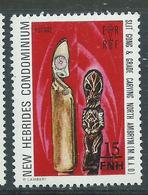 New Hebrides 1977 - YT N° 465 Neuf ** - Légende Anglaise
