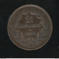 2,5 Centimes Luxembourg / Luxemburg 1901 TTB+ - Luxembourg