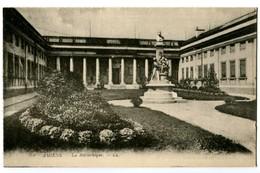 CPA 80 Somme Amiens La Bibliothèque - Amiens