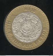 10 Nuevos Pesos Mexique 1994 - Bi-métallique / Bimetalic - Mexico