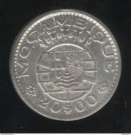 20 Escudos 1960 Mozambique Colonie Portugaise - Mozambique