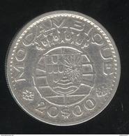 Mozambique Colonie Portugaise 20 Escudos 1955 - Mozambique