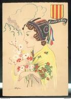 CPSM Edition Barré Et Dayez - Comté De Foix - Illustrateur Dyl - 1207X - Other Illustrators