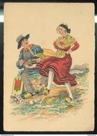 CPSM Edition Barré Et Dayez - Auvergne - 1186M - Imprimé 1945 - Other Illustrators