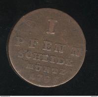 1 Pfennig Allemagne - Brunswick... 1795 - TTB - [ 1] …-1871 : Etats Allemands