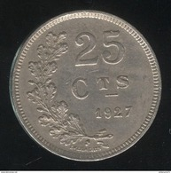 25 Centimes Luxembourg / Luxemburg 1927 SUP - Luxembourg