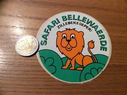 AUTOCOLLANT *, Sticker «SAFARI BELLEWAERDE - ZILLEBEKE (IEPER)» Belgique - Autocollants