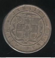 1/2 Penny Jamaïque 1871 - Victoria - TTB - Jamaique