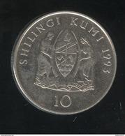 10 Shiling Tanzanie 1993 TTB+ - Tanzanía