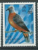 New Hebrides 1977 - YT N° 463 Neuf ** - Légende Anglaise