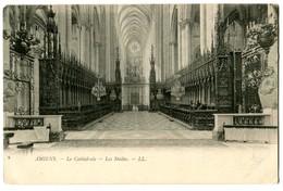 CPA 80 Somme Amiens La Cathédrale Les Stalles - Amiens