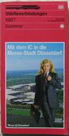 Städteverbindungen Sommer DB 31. Mai 1987 Bis 26. September 1987 - Chemin De Fer