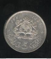 5 Dirhams Maroc / Morocco 1965 Argent - Maroc