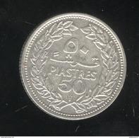 50 Piastres Liban 1952 - SUP - Lebanon