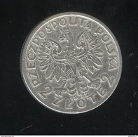 2 Zlotys Pologne 1932 TTB - Pologne