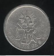 50 Centavos 1873 Mexique TB+ - Mexique